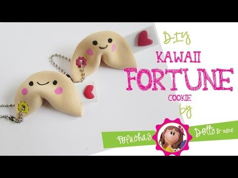 Easy Kawaii fortune cookie DIY - 3d Foam Sheet Craft - YouTube