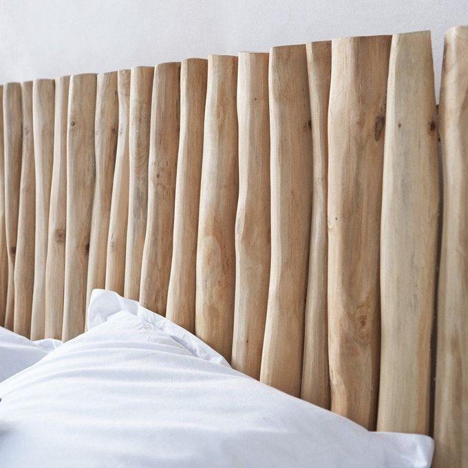 tete de lit en bois flotte 180 river