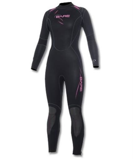 Women 47356: New 7Mm Bare Womens Sport Full Scuba Diving Wetsuit Size 10T Pink Black -> BUY IT NOW ONLY: $169.98 on eBay!