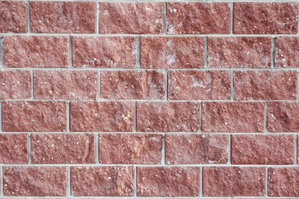 wall made of decorative bricks artificial stone background