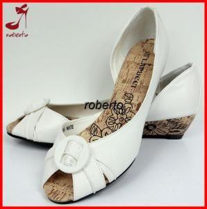 Letnie Czolenka Koturny M K255 White R 41 4267621355 Oficjalne Archiwum Allegro Shoes Fashion M S