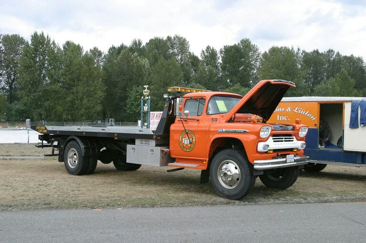 1959 Chevy Tow Truck Diesel Wagons Pinterest Tow