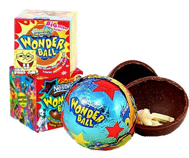 Foods From Your Childhood That Sadly No Longer Exist - Wonder Ball