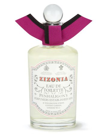 Zizonia Eau de Toilette Zizonia is a nomadic and mysterious oriental; an odyssey of burnt spices, patchouli and pepper, leading to a lush oasis of sweet orange, ginger and vetiver. Heady and enticing.