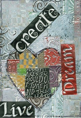 67 best My Metal and Mixed Media Art images on Pinterest   Metal ...