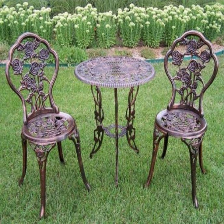 Patio Furniture Sets Clearance Furniture On Sale Dining 3 Piece Cast Iron  Bistro