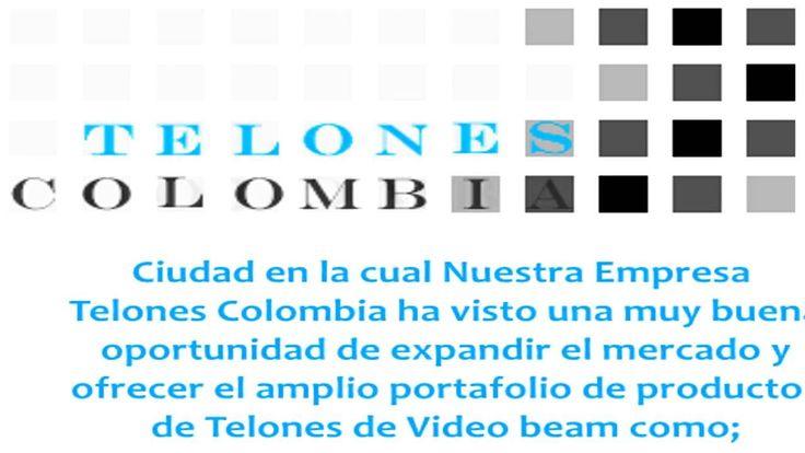 Telones y soportes de video beam en Medellin