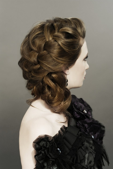 www.sharonblain.com  Image from Step-By-Step DVD  How To Do...Creative Braids  hair, long hair, braids