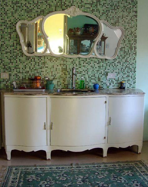 buenisimo el baiout usado de mueble de cocina... Interiores #44: Belleza y felicidad | Casa Chaucha