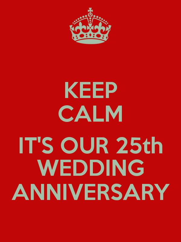 25th Wedding Anniversary Png
