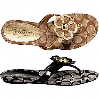 coach outfits | Coach Official Site - SHERRIE SANDAL from coach.com