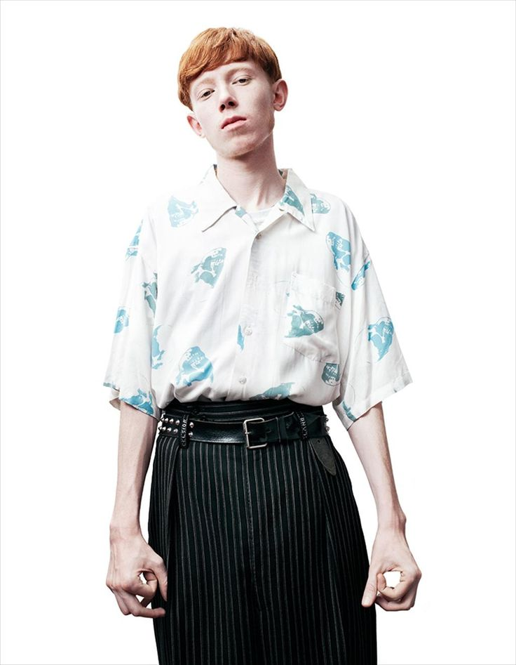 King Krule for Another Man S/S14, Photography by Willy Vanderperre, Styling by Alister Mackie