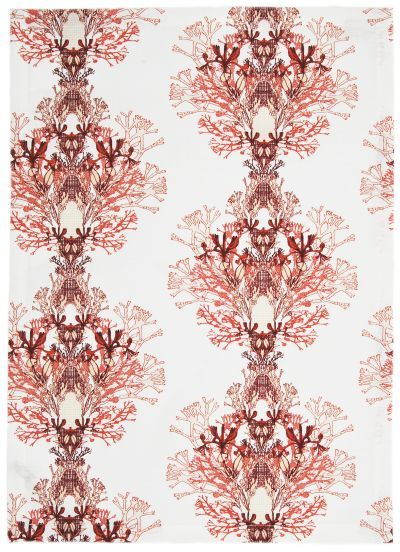 Mairo red Fager print, designed by Anna Backlund.
