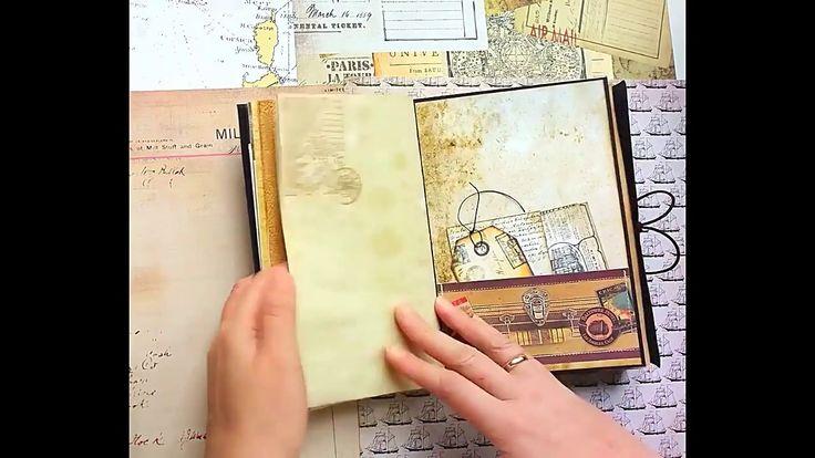 Travel Junk Journal Vintage