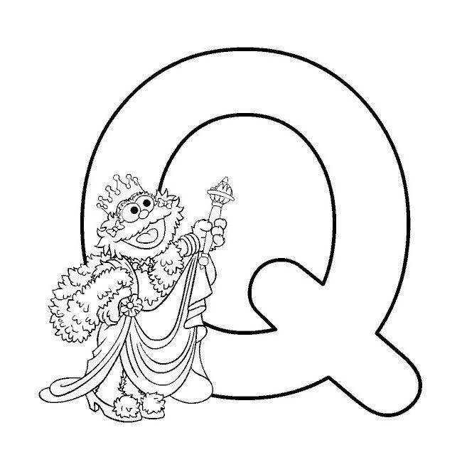 Buchstabe Letter Q Alphabet Malvorlagen Ausmalbilder Bibel Malvorlagen
