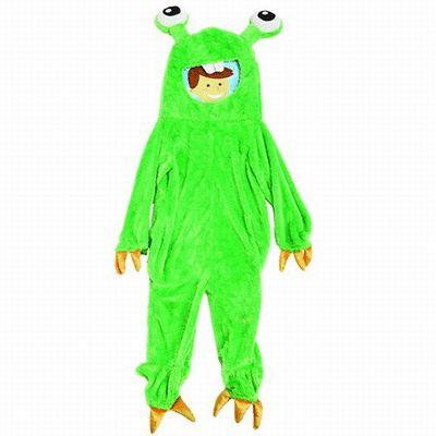 Gumbly monster pak voor kinderen. Leuk monster Gumbly kostuum in de kleur groen voor kinderen. Dit griezelige monster pak voor kinderen past bij kinderen in de leeftijd van 3 tot 5 jaar. Lengte van het pak: ongeveer 115 cm. Bestel ook de bijpassende knuffel in dezelfde outfit!
