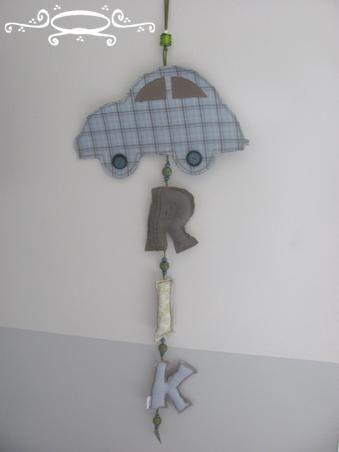 Een leuke hanger voor op de kamer. Of aan de deur.