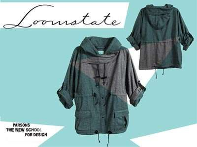 The Zero Waste Anorak is a Collab Between Loomstate and Parson's #ecofriendly #fashion trendhunter.com
