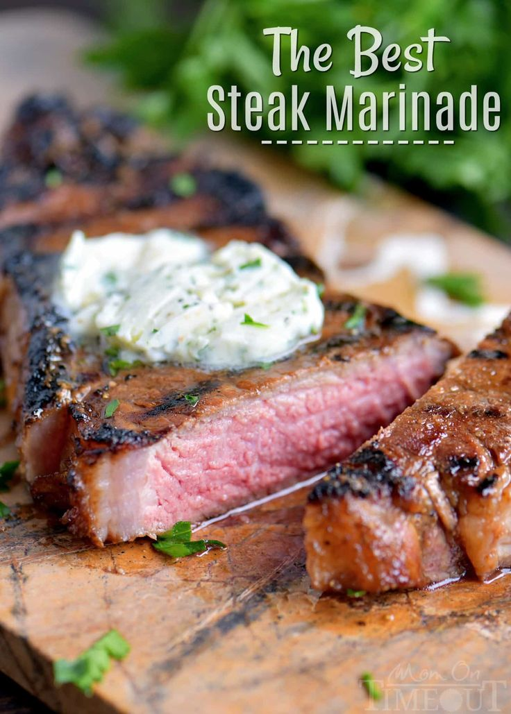 Get ready for The BEST Steak Marinade ever! This easy marinade produces the most tender, juicy, flavorful steaks that are impossible to resist!