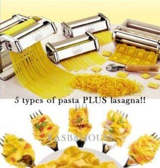 pasta machine (of 2. 1 voor eten, 1 voor fimo)