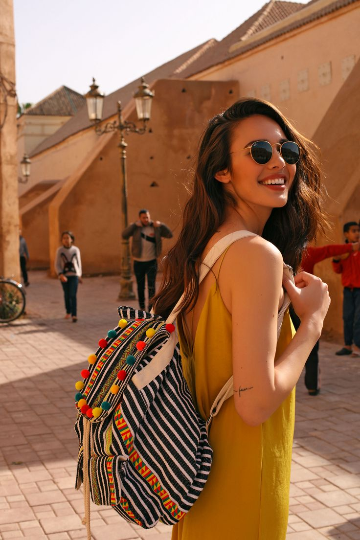 #AnaMoyaCalzado is always ready for new adventures with her #Selam backpack.