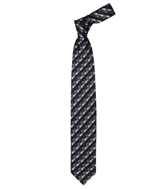 Vermello Multi Checks Micro Fiber Men Broad Ties