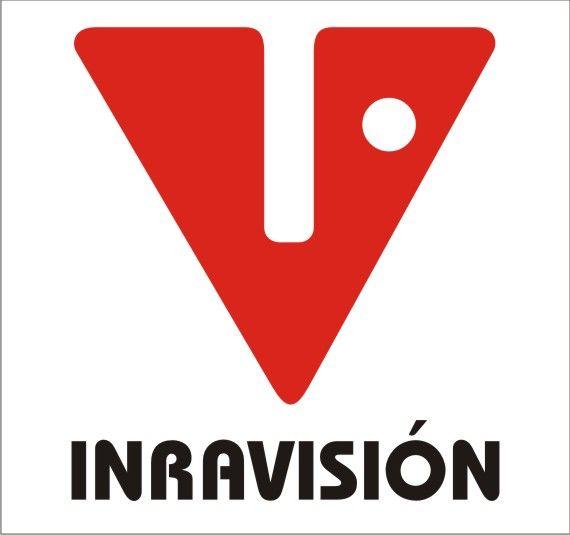 Logotipo de Inravisión diseñado por David Consuegra, visita nuestro blog sobre la historia del diseño gráfico en Colombia