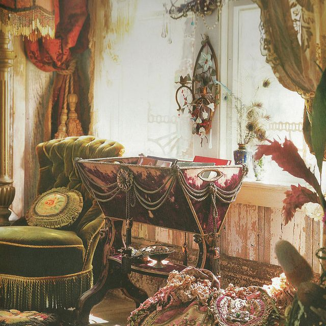 1298 Best Bohemian And Victorian Decor Images On Pinterest