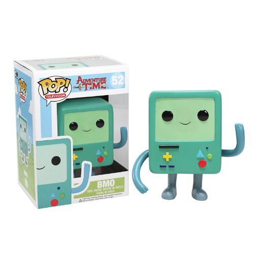 Your favorite living video game console from Adventure Time with Finn and Jake has been given the Pop! Vinyl treatment with the Adventure Time Beemo Pop! Vinyl Figure! Standing 3 3/4-inches tall the ...