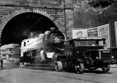 Locomotive at Rockvilla, 1955