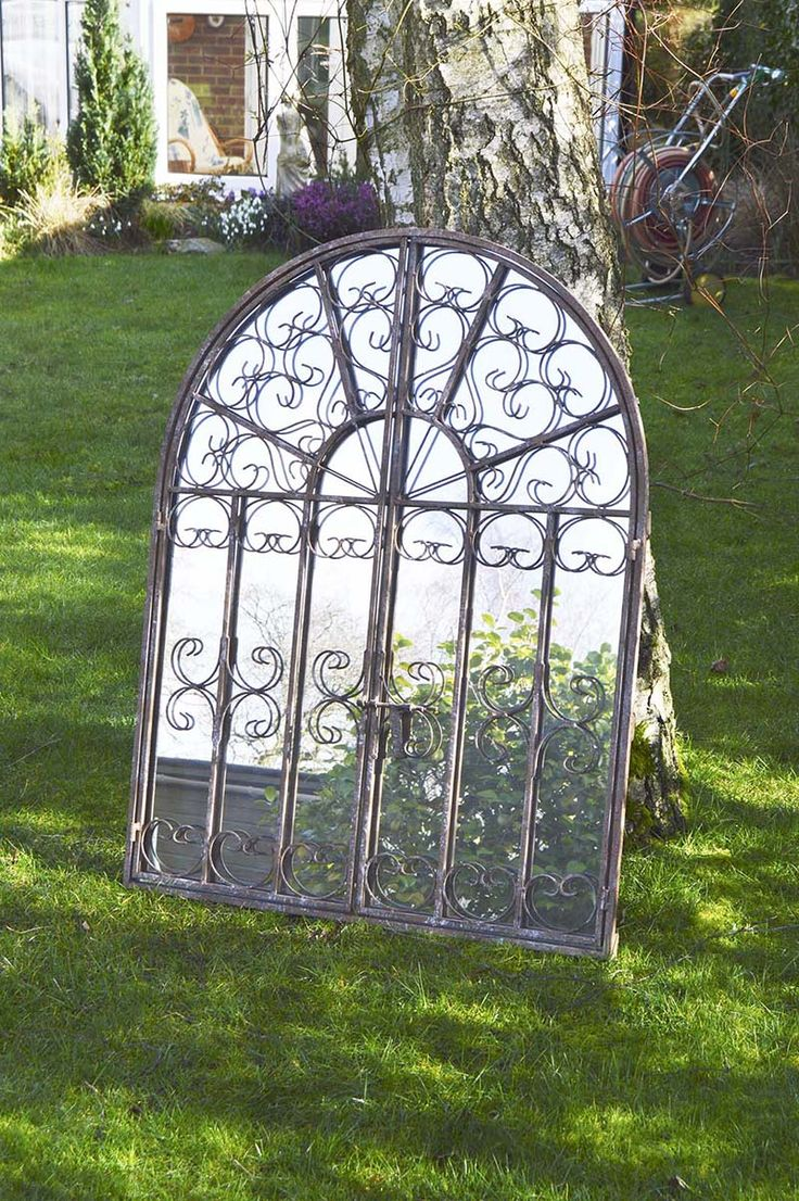 Large Garden Outdoor Or Indoor Frost Protected Mirror WAS NOW All Part Of  Our Off Garden Mirror Sale! With FREE Deliveries FREE Returns U0026 FREE  Exchanges ...