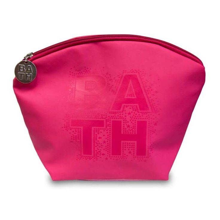 Disponible sur Boutiquedubain.com Trousse à Maquillage Bath Rose 31cm