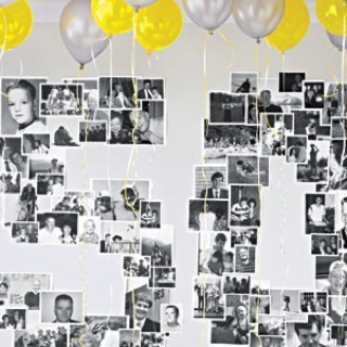 Photo Display for 50th Anniversary