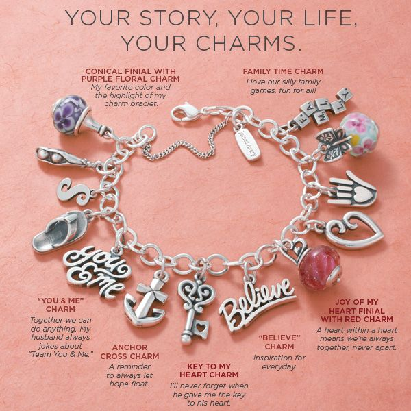 Start a charm bracelet and give your memories a home. Your story, your life, your charms. #JamesAvery
