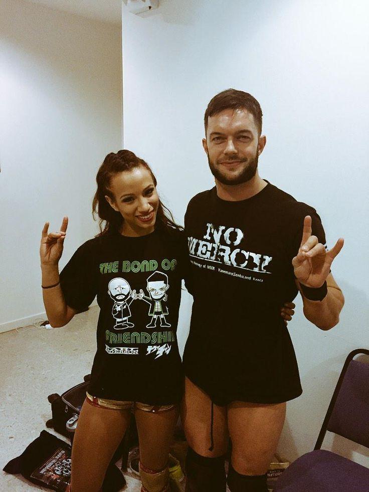 WWE Sasha Banks and FInn Balor: my two favorites on NXT