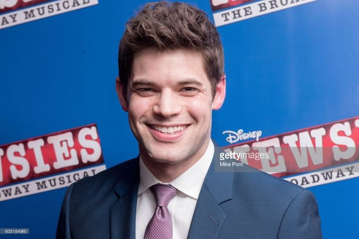 Jeremy Jordan attends the 'Newsies' New York Premiere at AMC Loews Lincoln Square 13 on February 13, 2017 in New York City.