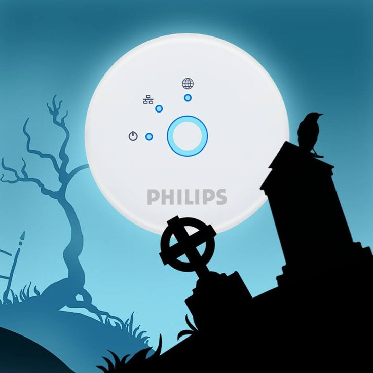 Philips Hue is perfect for Halloween! Create a scary mood by changing the lighting with use of your smartphone. Simple, elegant, innovative and cool. LED leet