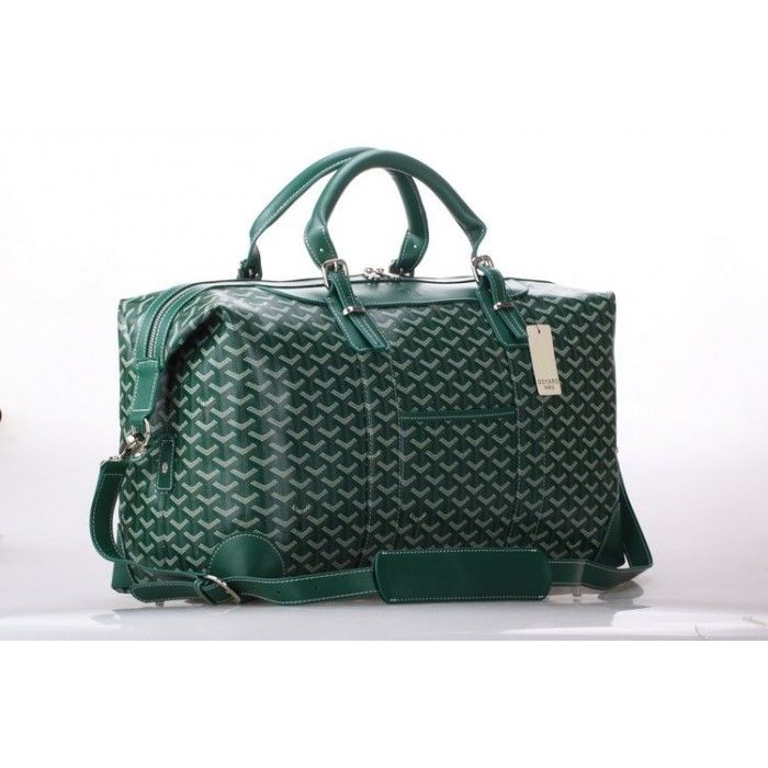 Goyard Luggage Boeing Travelling Bag Green_1