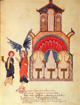 Pre-Romanesque - Message to the Church of Smyrna - Ende