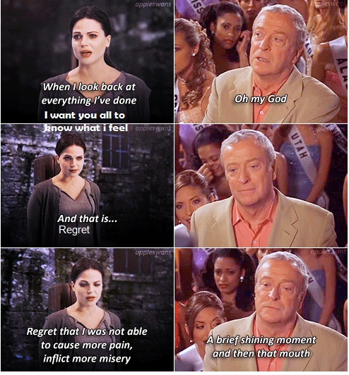 Miss Congeniality Once Upon A Time Mash up.... bahahaha I do believe this is my life. :p Lol