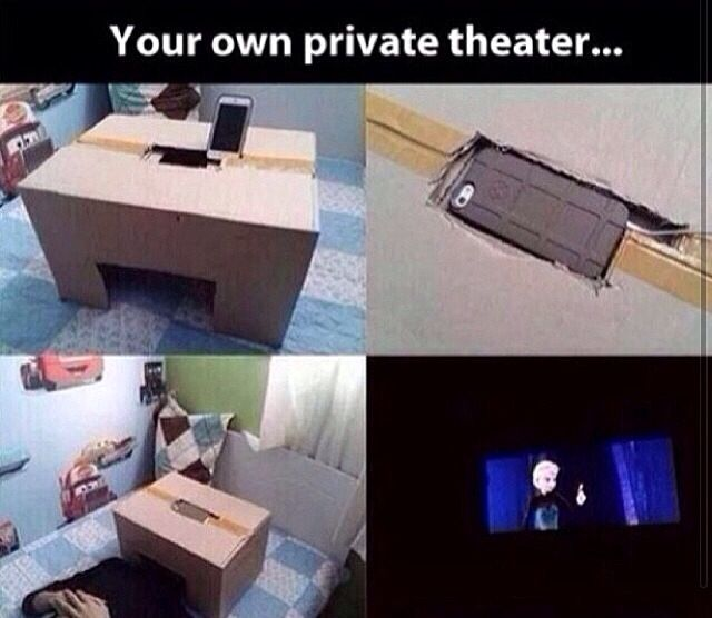 your own personal movie box