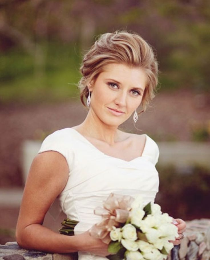 Classy Bridal hair
