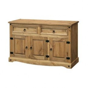 Corona Mexican Pine Medium Sideboard CR916   www.easyfurn.co.uk
