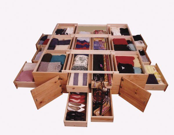 Ultimate Bed Platform Beds with Drawers... Wonder if my dad could build something like this for me