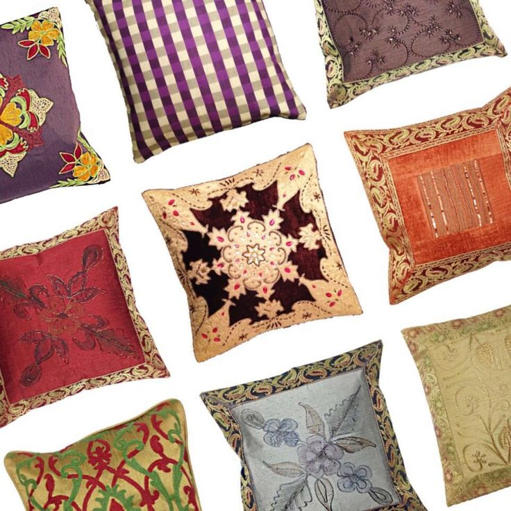 "Indian Interiors on Twitter: ""cushions of an #exotic nature in #vintage tones #inspiration #decor #warmcolors #embroidery #interiordesign #mixitup https://t.co/jvGOXVzqY7"""