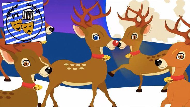 ρούντολφ το ελαφάκι   Ελληνικά Χριστουγεννιάτικα τραγούδια   Greek Chris...