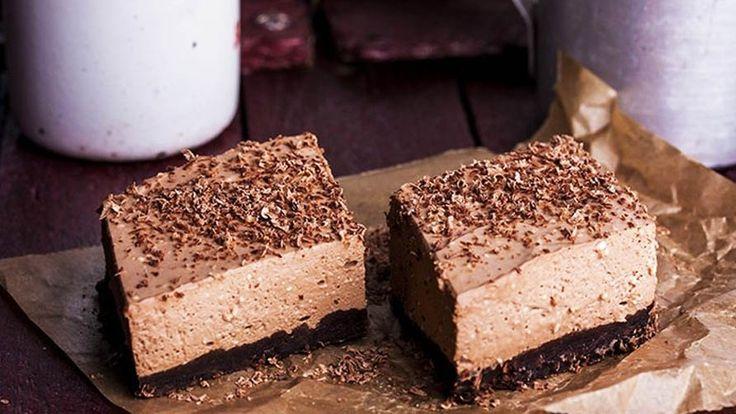 Шоколадно-творожный десерт для тех, кто на диете