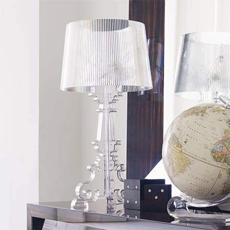 Bourgie. Kartell. Color: Transparente. http://www.lamparasoliva.com/outlet/bourgie-transparente-kartell.html