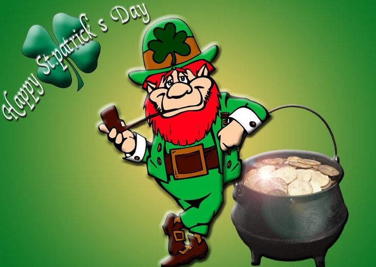 Leprechaun Shamrock Pictures, HD Images, Coloring Pages, Clip art | Who is Leprechaun?