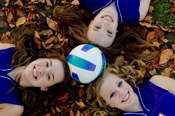 Cute volleyball pictures idea!!